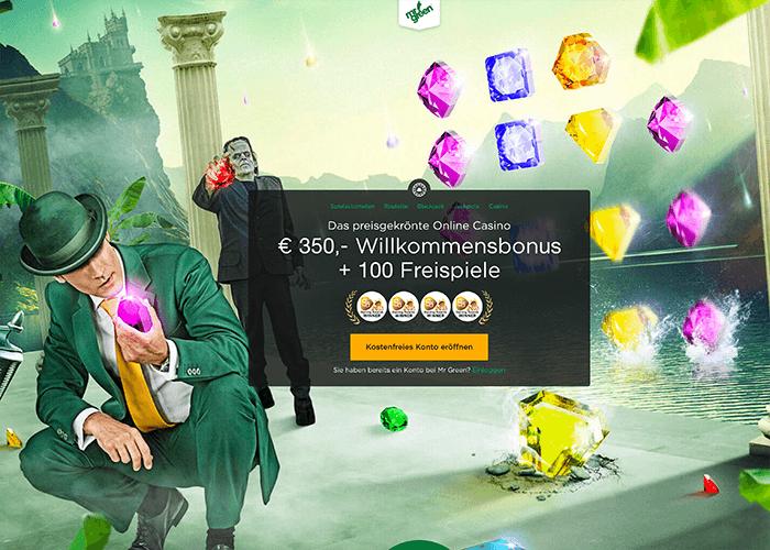 Spielen Sie bei Mr Green Black Jack mit echten Dealern